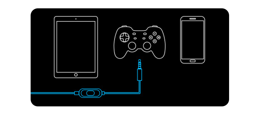 Konsolenkompatibel Nintendo® Switch™ PS4® Xbox® One Smartphones und Tablets