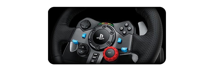 logitech g29 driving force lenkrad steering wheel ps4 ps3. Black Bedroom Furniture Sets. Home Design Ideas