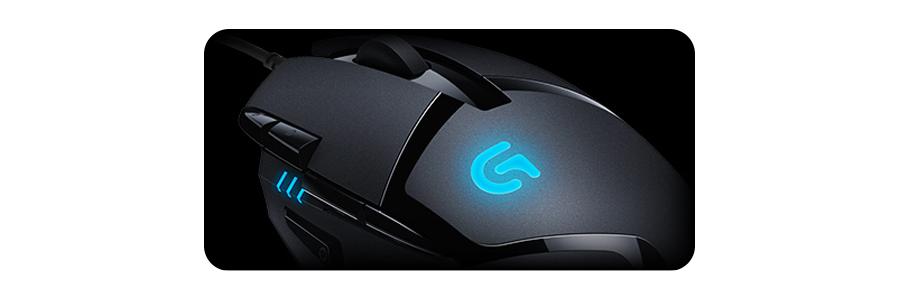 Die Maus mit 8 programmierbaren Tasten LOGITECH G402 Hyperion Fury Gaming