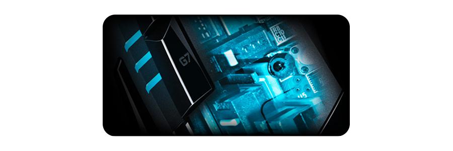 Die Maus mit 32 Bit ARM Prozessor LOGITECH G402 Hyperion Fury Gaming