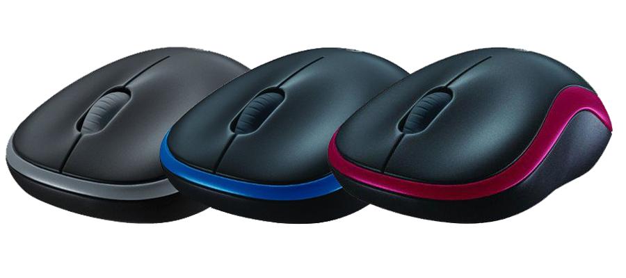 optische drahtlose kabellose Maus USB Empfänger Logitech M185