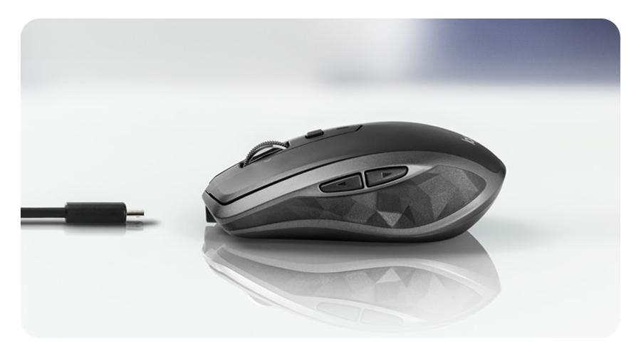 Ladezeit der Maus von 3 Minuten Logitech MX Anywhere 2S