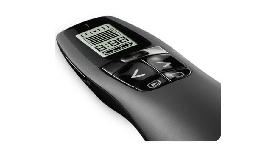 Presenter mit LCD Anzeige und vibrierendem Timer LOGITECH R700 Professional