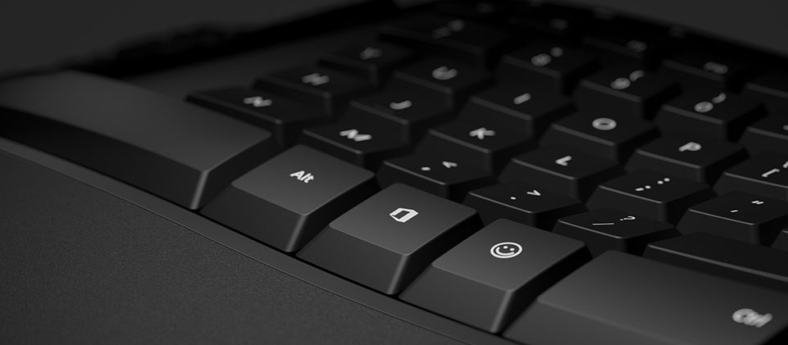 Die geräuscharmen Tasten und der Schnellzugriff auf Mediensteuerelemente mit der Tastatur MICROSOFT WIRED KEYBOARD 600 SCHWARZ ANB00008 DE