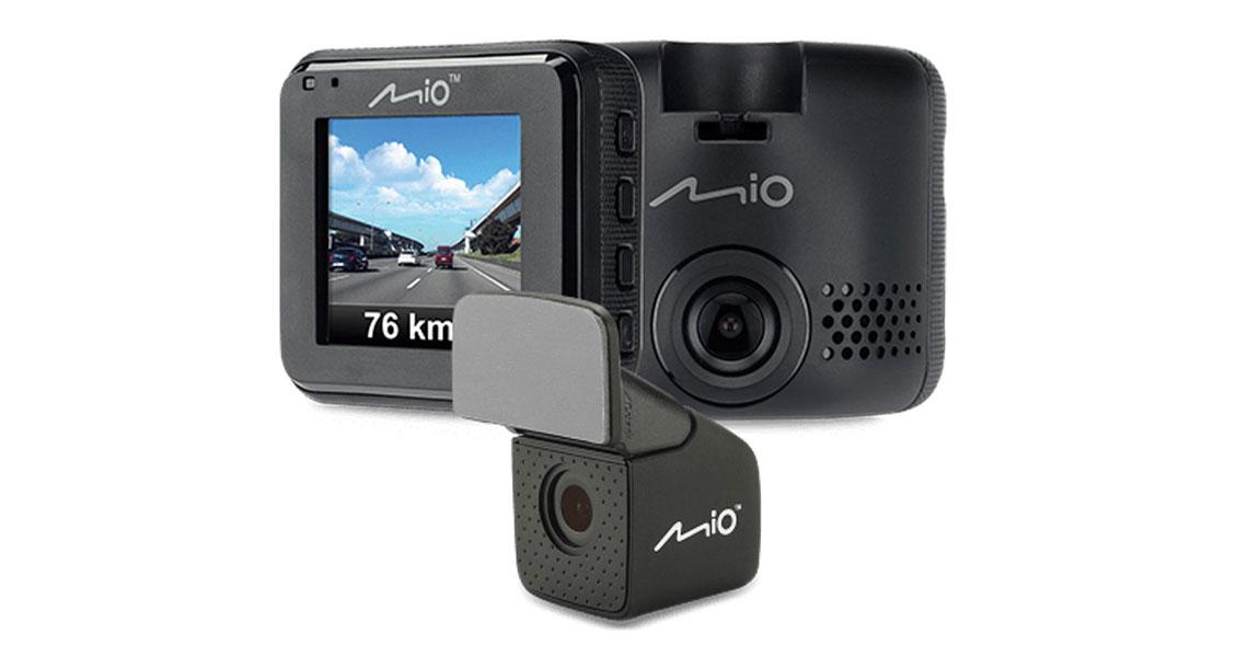 Mio MiVue C380 Dual Dashcam