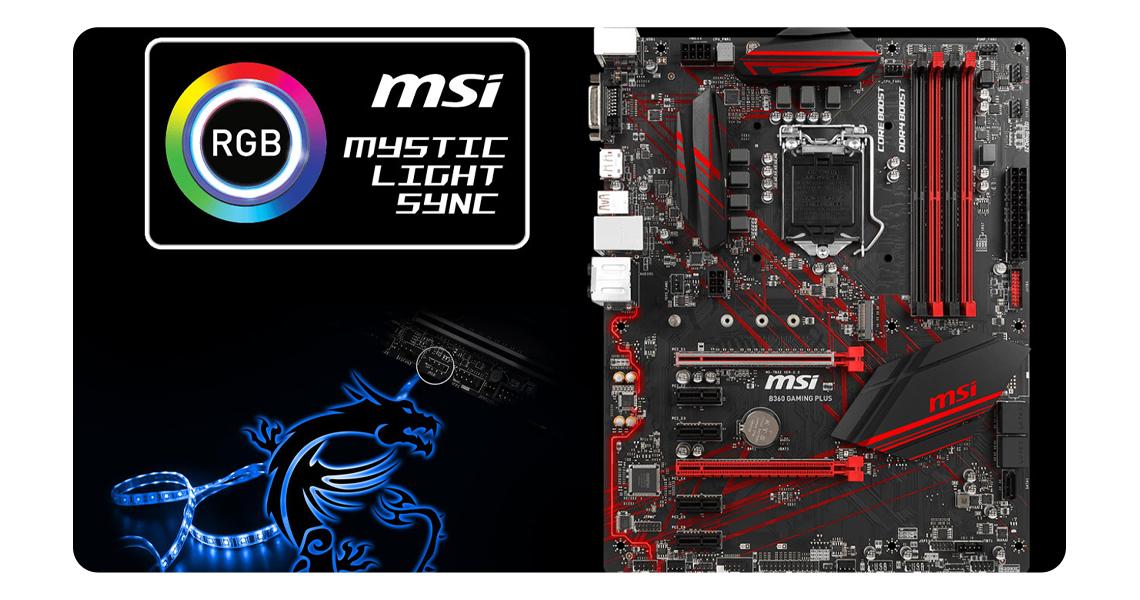 Speicherleistung mit dem Mainboard MSI B360 GAMING PLUS