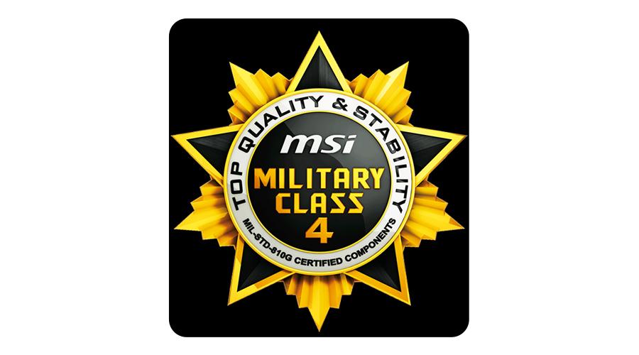 Military Class 4 Komponenten