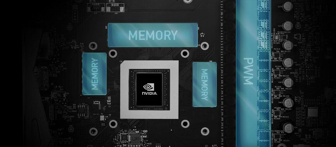 Kühlung der Grafikkarte MSI Geforce RTX 2070 SUPER VENTUS OC 8GB GDDR6