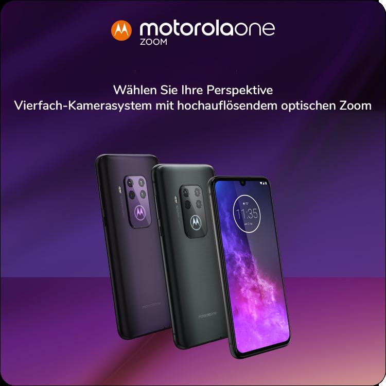 Handy Smartphone Motorola Moto Zoom
