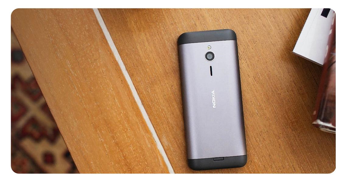 Profil des Smartphones NOKIA 230 EU