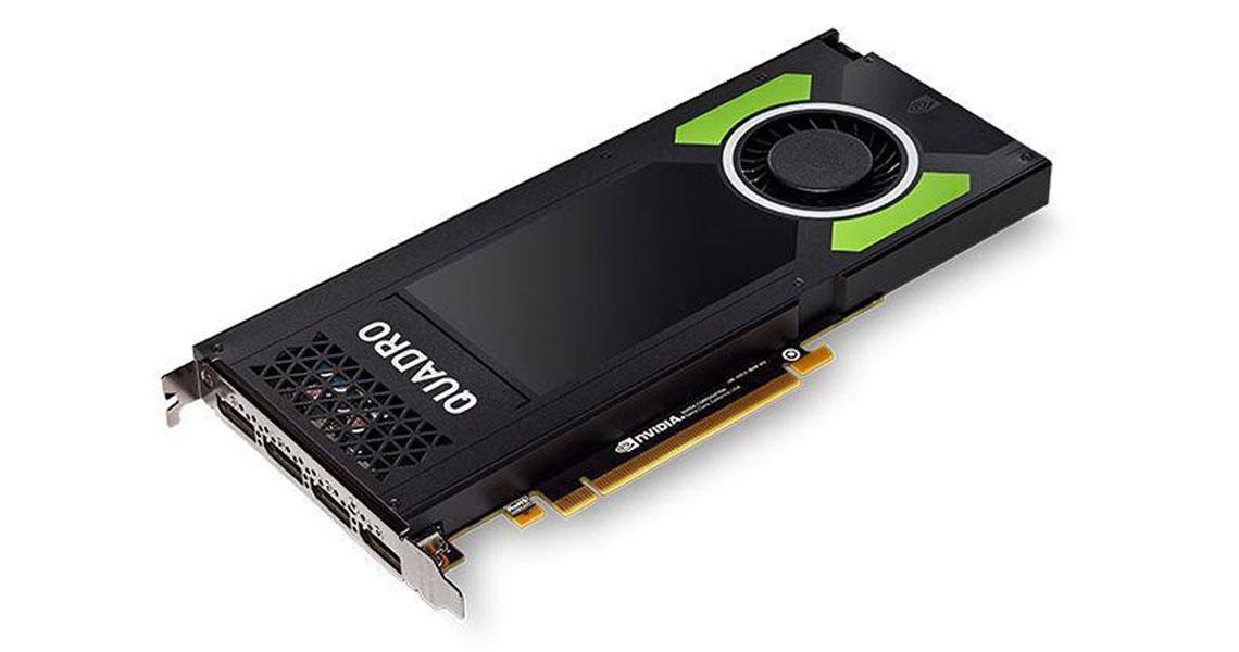 Leistung und Unterstützung der OpenGL DirectX OpenCL und NVIDIA CUDA Standards mit der Grafikkarte PNY Quadro P4000 8GB GDDR5