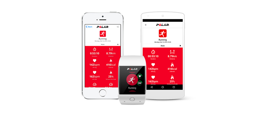 App Polar SportUhr Smartwatch