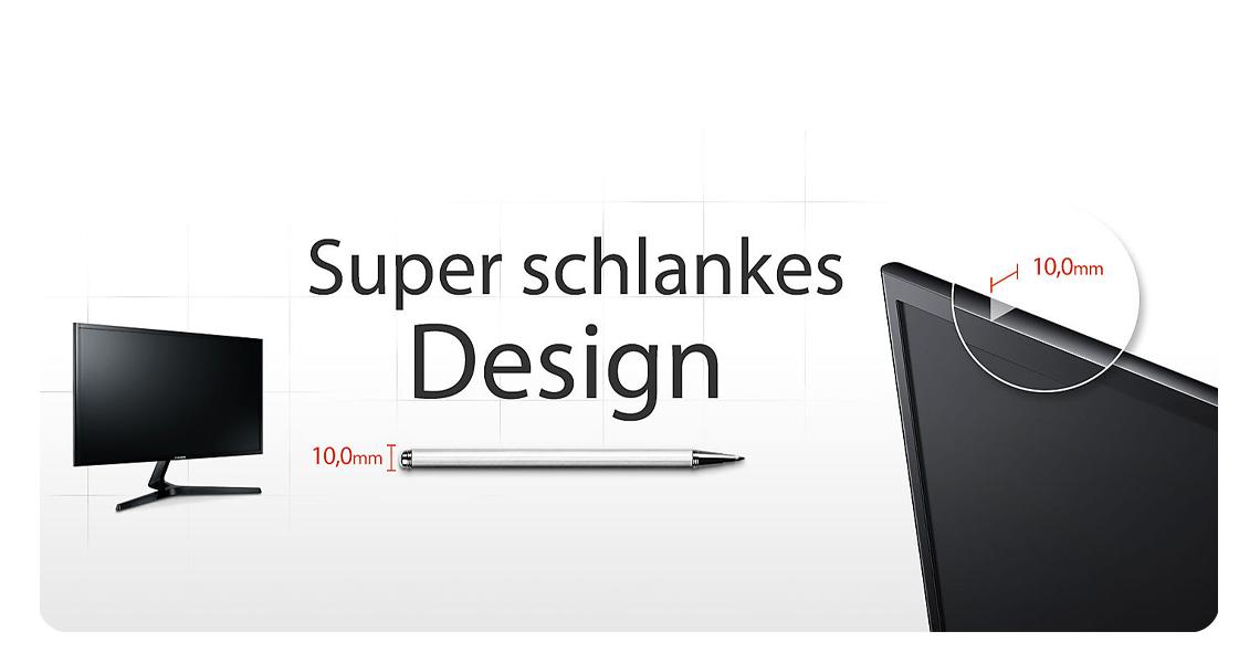 Super schlankes Panel Monitor