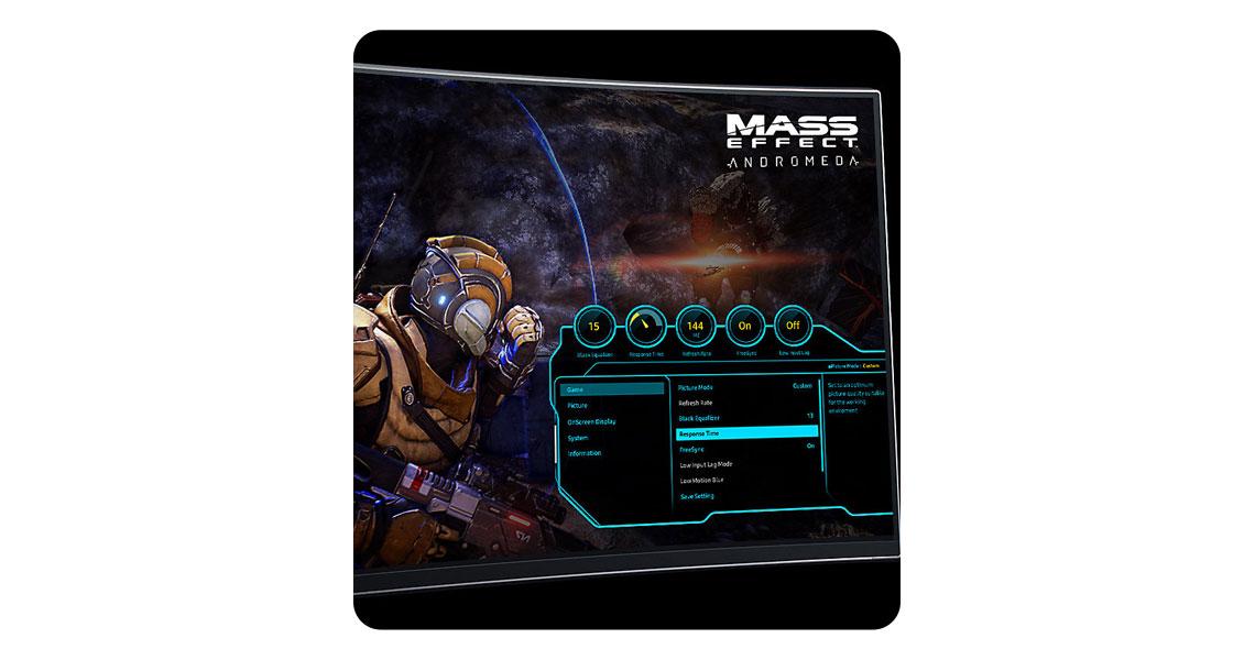 Game-style OSD Dash
