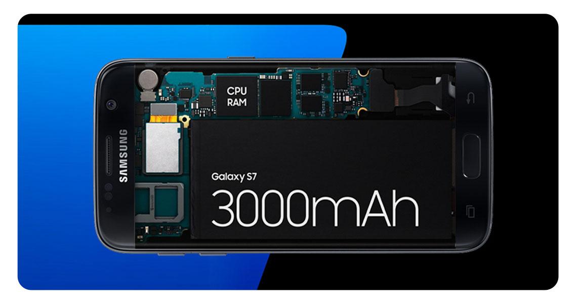S7: 3000mAh S7 edge: 3600mAh Batterie Akku