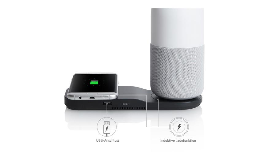 Smartphone Tablet Bottle Lautsprecher Ladekabel USB Ladefunktion