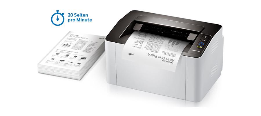 Samsung 20 Seiten pro Minute