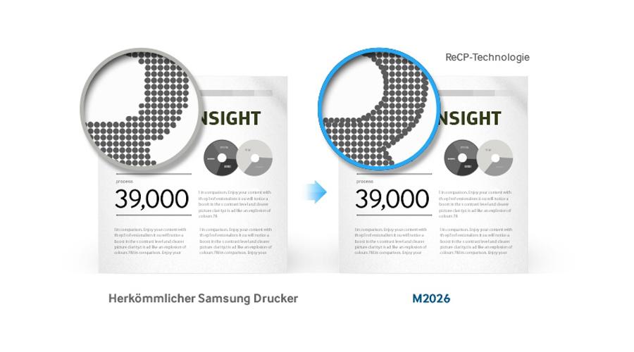 Samsung brillanter Qualität