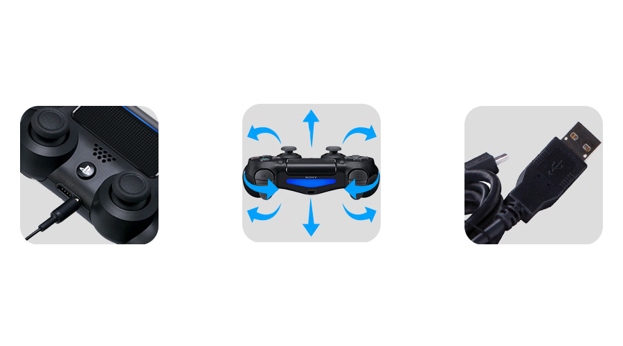 Dualshock USB Stereoheadset Bewegungssensoren