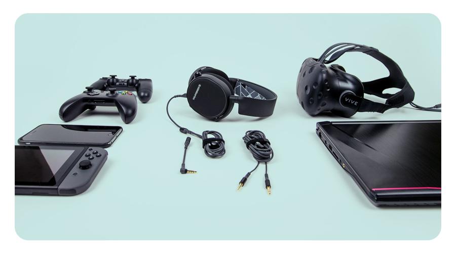 Mikrofon Gaming Kopfhörer