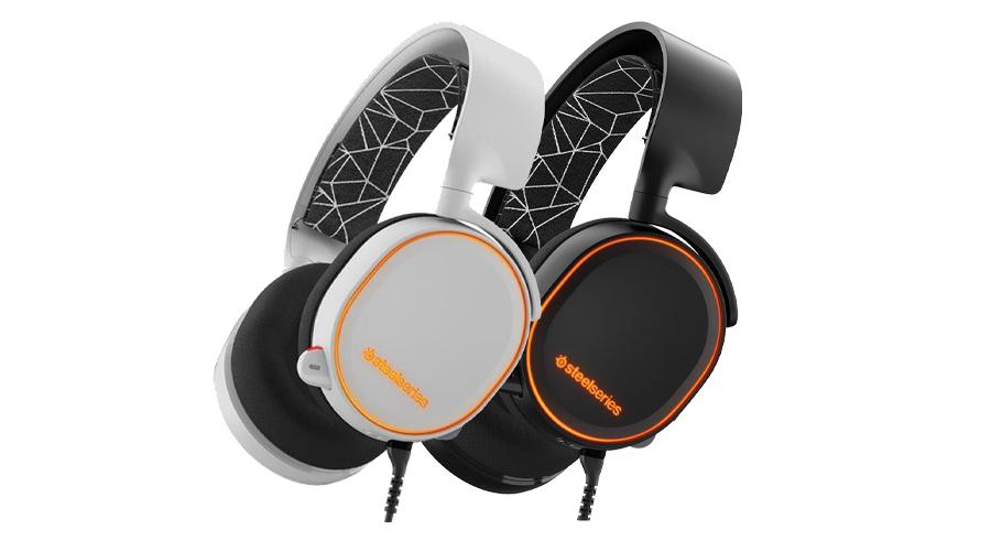 Die S1 Lautsprechertreiber im Kopfhörer STEELSERIES Arctis 5 Gaming Headset