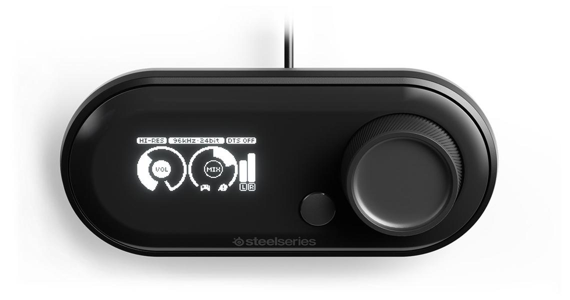 High Fidelity USB DAU Verstärker für Spieler STEELSERIES Arctis Pro und GameDAC Gaming-Headset