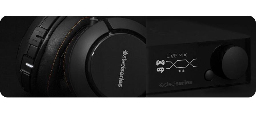 Gaming Headset SteelSeries Siberia 840