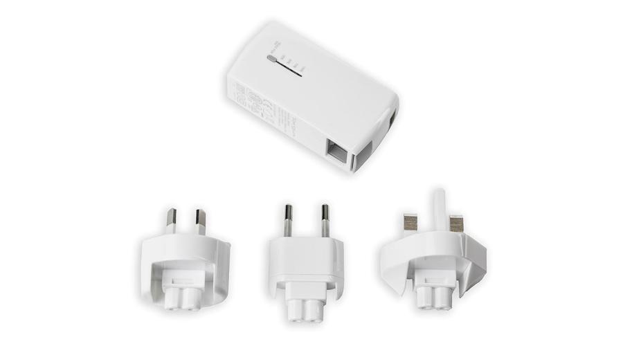 USB-Steckerladegerät + Power Bank für Smartphone und Tablet