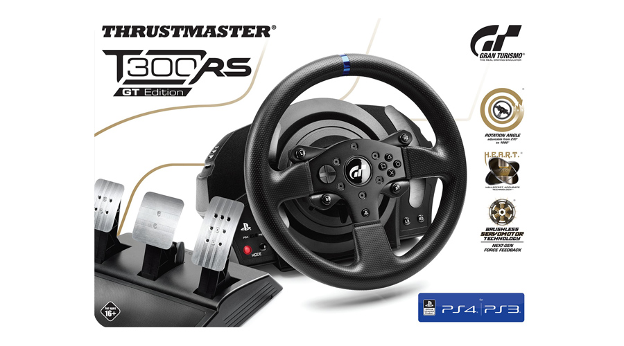 Abnehmbarer Rennlenker im GT Stil THRUSTMASTER T300 RS Edition PC PS
