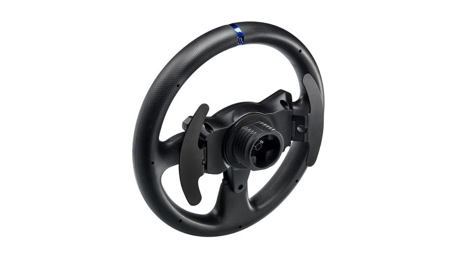 Das Lenkrad mit 2 Schaltwippen THRUSTMASTER T300 RS GT Edition PC PS