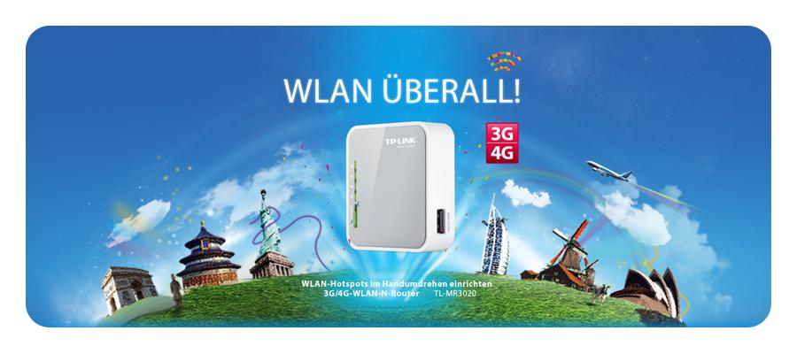 WLAN Hotspot 3G 4G