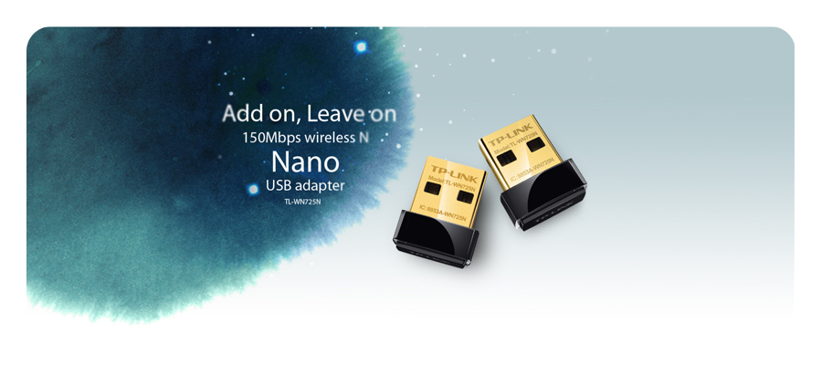150Mbit/s WLAN Nano USB Adapter