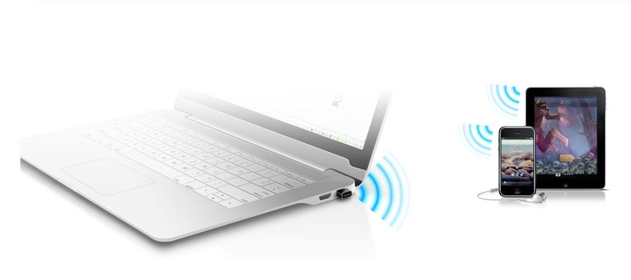 Der Adapter mit dem SoftAP Modus TP Link WLAN Nano USB TL WN725N v2.1 / v2.2