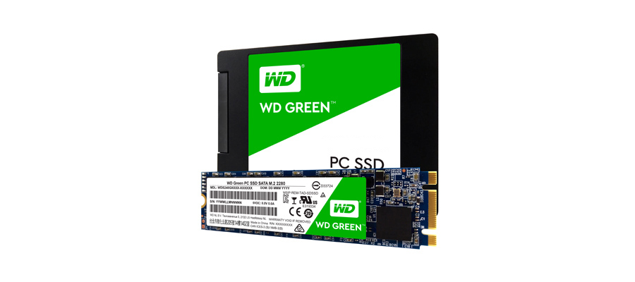 SSD WD Green 120 GB M.2