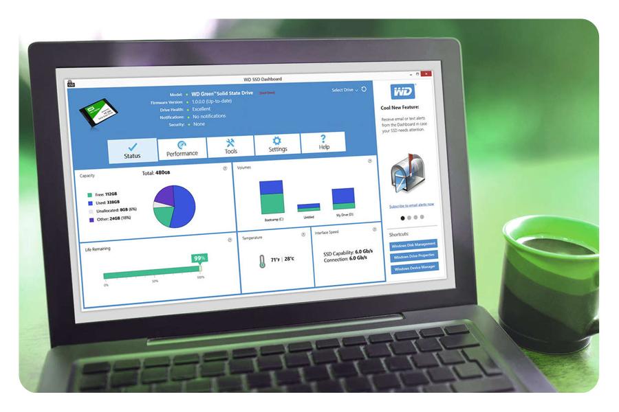 Laptop SSD Festplatte