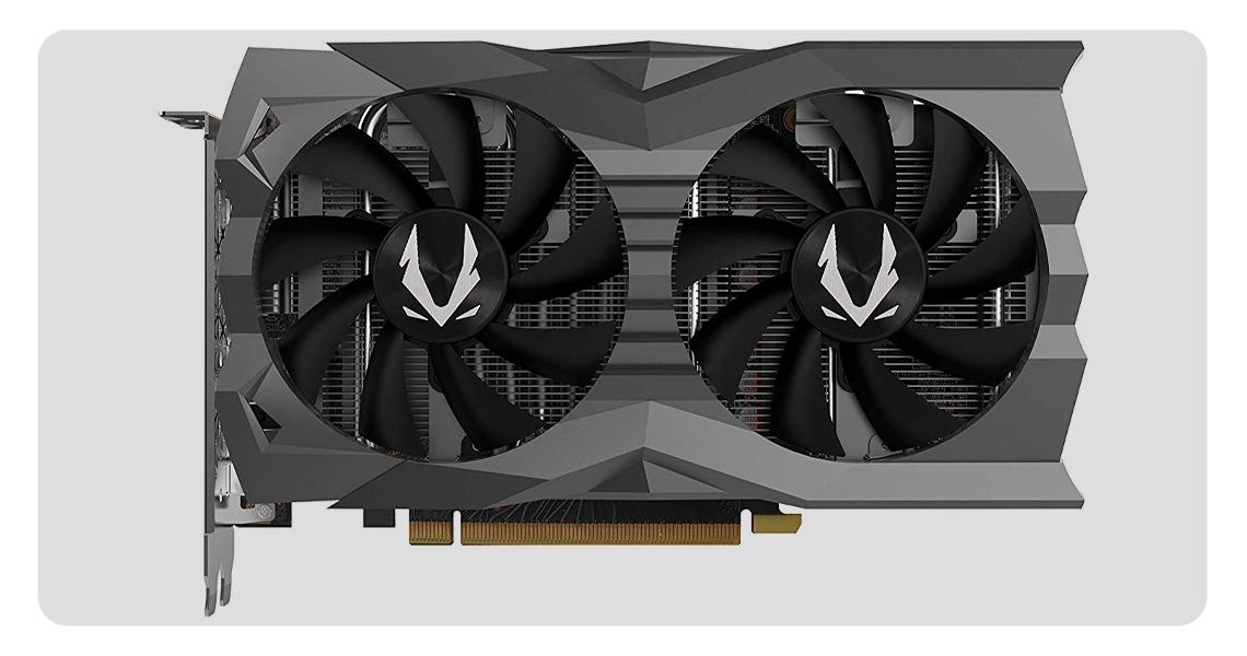 VR Generation der Grafikkarte ZOTAC GeForce GTX 1660 TI AMP EDITION ZT-T16610D-10M