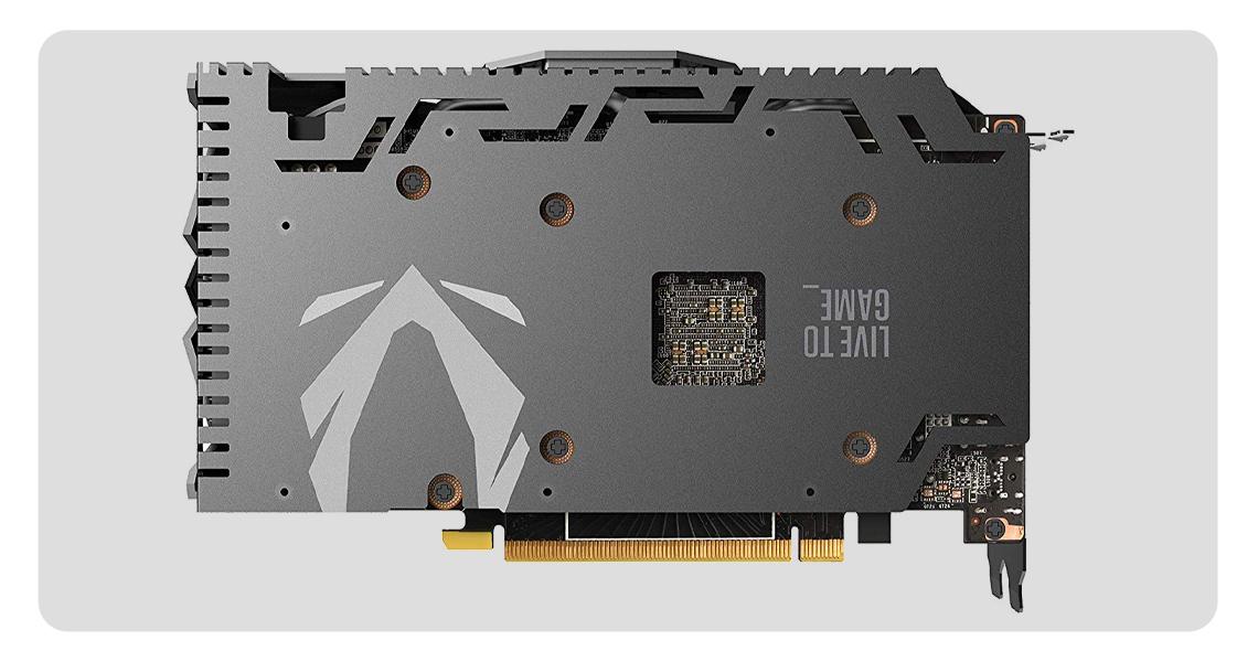 Videoaufzeichnung und Screenshot ZOTAC GeForce GTX 1660 TI AMP EDITION ZT-T16610D-10M